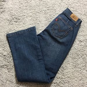 Levi's red tab 529 curvy boot cut jeans size 6M